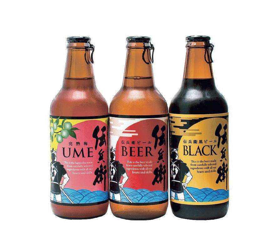'焼酎蔵がつくったビールを表現したパッケージデザイン